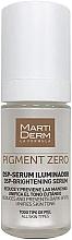 Düfte, Parfümerie und Kosmetik Aufhellendes Gesichtsserum gegen Pigmentflecken - MartiDerm Pigment Zero DSP-Serum Iluminador
