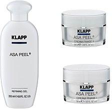 Düfte, Parfümerie und Kosmetik Gesichtspflegeset (Gel 200ml + Creme 30ml + Creme 30ml) - Klapp ASA Peel Home Cure Pack