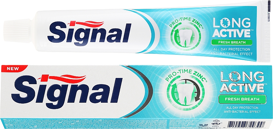 Zahnpasta für einen frischen Atem - Signal Long Active Fresh Breath Toothpaste — Bild N1