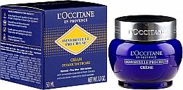 Düfte, Parfümerie und Kosmetik Feuchtigkeitsspendende Gesichtscreme mit Hyaluronsäure - L'Occitane Immortelle Precisious Cream Facial Moisturizer