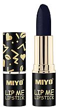 Düfte, Parfümerie und Kosmetik Feuchtigkeitsspendender Lippenstift - Miyo Lip Me Lipstick Belladonna