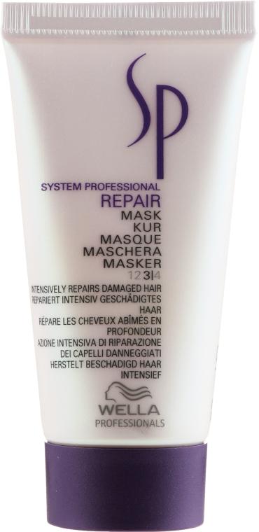 Intensiv regenerierende Maske für geschädigtes Haar - Wella Professionals Wella SP Repair Mask (Mini) — Bild N1