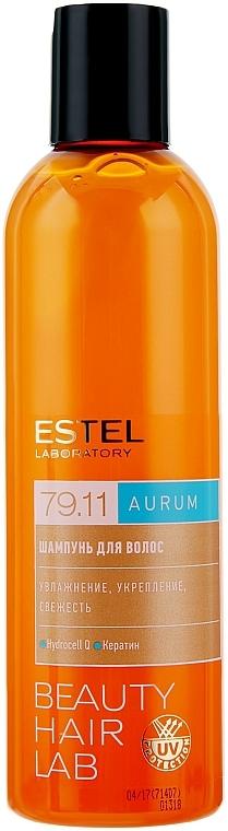 Erfrischendes Shampoo mit Keratin - Estel Beauty Hair Lab 79.11 Aurum Shampoo