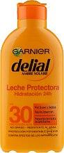 Düfte, Parfümerie und Kosmetik Feuchtigkeitsspendende Sonnenschutzmilch SPF 30 - Garnier Ambre Solaire Delial Protective Moisturizing Milk SPF30