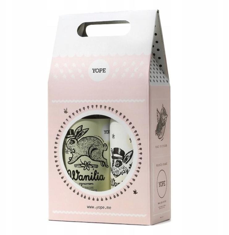 Körperpflegeset - Yope Vanilla & Cinnamon (Flüssigseife 500ml + Körperlotion 300ml)