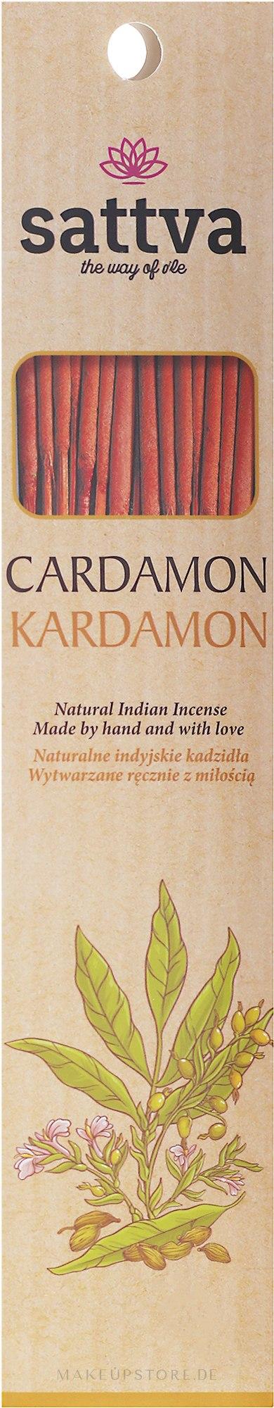 Räucherstäbchen Kardamon - Sattva Kardamon Incense Sticks — Bild 15 St..