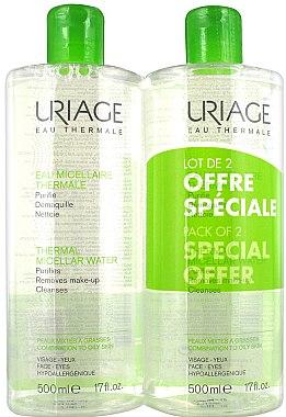 Gesichtspflegeset - Uriage Eau Micellaire Thermale (Mizellen-Reinigungswasser 2x500ml) — Bild N1