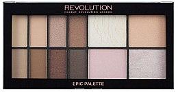 Düfte, Parfümerie und Kosmetik Lidschattenpalette - Makeup Revolution Epic Day Palette