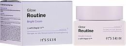 Düfte, Parfümerie und Kosmetik Aufhellende Gesichtscreme - It's Skin Glow Routine Bright Cream