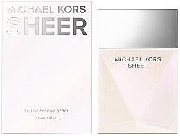 Düfte, Parfümerie und Kosmetik Michael Kors Sheer 2017 - Eau de Parfum