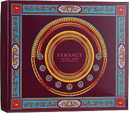 Düfte, Parfümerie und Kosmetik Versace Crystal Noir - Duftset (Eau de Toilette 90ml + Körperlotion 150ml + Eau de Toilette 10ml)
