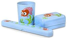 Düfte, Parfümerie und Kosmetik Badezimmer-Set für Kinder 6007 blau - Donegal