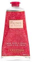Düfte, Parfümerie und Kosmetik L'Occitane Rose 4 Reines - Handcreme