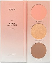 Düfte, Parfümerie und Kosmetik Rougepalette - Zoeva The Basic Moment Blush Palette
