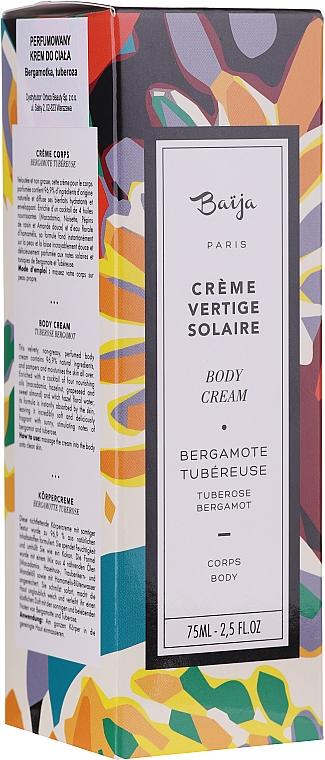 Parfümierte Körpercreme - Baija Vertige Solaire Body Cream — Bild N1