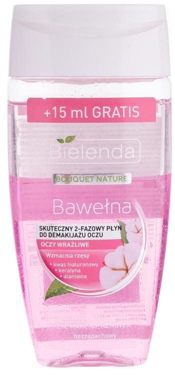 Zwei-Phasen Make-up Entferner Baumwolle - Bielenda Bouquet Nature Bawetna