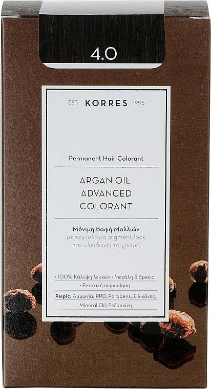 Haarfarbe mit Arganöl - Korres Argan Oil Hair Colorant — Bild N1