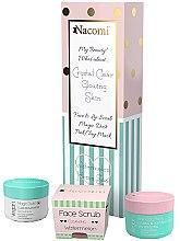 Düfte, Parfümerie und Kosmetik Gesichtspflegeset - Nacomi Home Spa (Maske 50ml + Gesichtsscrub 80g + Reinigungspulver 20g)