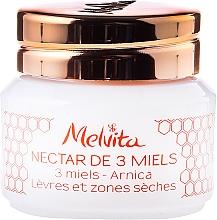 Düfte, Parfümerie und Kosmetik Regenerierender Lippenbalsam gegen Reizungen und Rötungen - Melvita Apicosma Nectar De 3 Miles