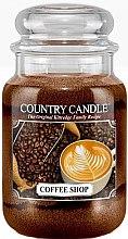 Düfte, Parfümerie und Kosmetik Duftkerze im Glas Coffee Shop - Country Candle Coffee Shop
