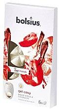 Düfte, Parfümerie und Kosmetik Tart-Duftwachs Bratapfel & Zimt - Bolsius True Moods Collection Get Cosy Baked Apple & Cinnamon Smart Wax System