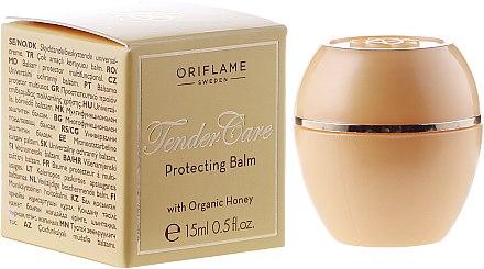 Schützender Lippen- und Gesichtsbalsam mit Bio Honig - Oriflame Tender Care Protecting Balm — Bild N1