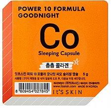 Düfte, Parfümerie und Kosmetik Anti-Aging Schlafmaske für normale bis trockene Haut - It's Skin Power 10 Formula Goodnight Co Sleeping Capsule