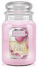 Düfte, Parfümerie und Kosmetik Duftkerze im Glas It's a Girl - Country Candle It's a Girl