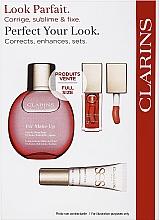 Make-up Set - Clarins Fix Make Up Set (Lippenöl 7ml + Fixierspray 50ml + Make-up Base 10ml) — Bild N1