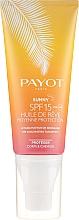 Düfte, Parfümerie und Kosmetik Trockenes Sonnenschutzöl für Körper und Haar SPF 15 - Payot Sunny The Sublimating Tan Effect Body and Hair SPF15