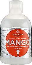 Düfte, Parfümerie und Kosmetik Feuchtigkeitsspendendes und regenerierendes Shampoo mit Mango - Kallos Cosmetics Mango
