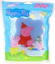 Düfte, Parfümerie und Kosmetik Kinder-Badeschwamm Peppa Pig winterblau - Suavipiel Bath Sponge