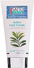 Düfte, Parfümerie und Kosmetik Fußcreme mit grünem Tee - Saito Spa Active Foot Cream Green Tea
