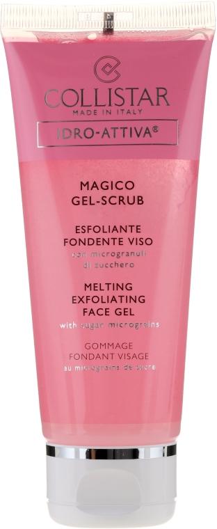 Gesichtsgel-Scrub mit Zucker-Mikropartikeln - Collistar Idro Attiva Magico Gel Scrub — Bild N1