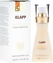 Düfte, Parfümerie und Kosmetik Straffendes Gesichtsfluid mit Aloe Vera und Acai-Öl - Klapp Kiwicha Deep Moisture Fluid