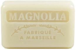 Düfte, Parfümerie und Kosmetik Handgemachte Naturseife Magnolie - Foufour Savonnette Marseillaise