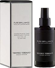Düfte, Parfümerie und Kosmetik Mizellen-Reinigungswasser - Vestige Verdant Pure Brilliance Micellar Cleansing Water