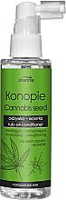 Düfte, Parfümerie und Kosmetik Feuchtigkeitsspendende und stärkende Haarspülung mit Hanfsamen ohne Ausspülen - Joanna Cannabis Seed Moisturizing-Strengthening Rub-on Conditioner