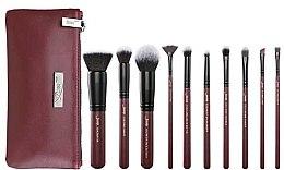 Düfte, Parfümerie und Kosmetik Make-up Pinselset in Kosmetiktasche T259+CB004 10 St. - Jessup