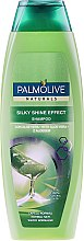 "Düfte, Parfümerie und Kosmetik Glanzgebendes Shampoo ""Aloe Vera"" - Palmolive Naturals Silky Shine Effect Shampoo"