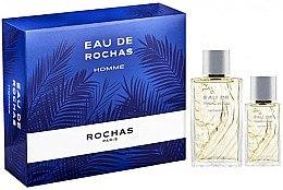 Düfte, Parfümerie und Kosmetik Rochas Eau de Rochas Homme - Duftset (Eau de Toilette/100ml+Eau de Toilette/50ml)