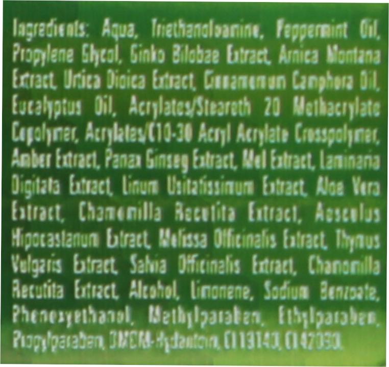 Körpermassagegel mit 7 Kräutern - BingoSpa Massage Gel With Seven Herbs — Bild N3