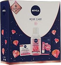 Düfte, Parfümerie und Kosmetik Gesichtspflegeset - Nivea Rose Care (Lippenbalsam 5.5ml + Tagescreme 50ml + Mizellarwasser 400)