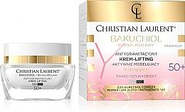 Düfte, Parfümerie und Kosmetik Aktiv modellierende Lifting-Creme für Gesicht, Hals und Dekolleté 50+ - Christian Laurent Bakuchiol Retinol Y-Reshape Lifting Cream