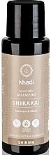 Düfte, Parfümerie und Kosmetik Feuchtigkeitsspendendes Shampoo für alle Haartypen mit Shikakai - Khadi (Mini)