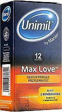 Düfte, Parfümerie und Kosmetik Kondome Max Love 12 St. - Unimil Max Love