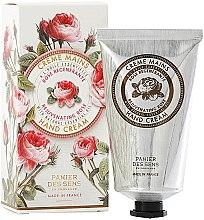 Düfte, Parfümerie und Kosmetik Handcreme mit natürlichem ätherischem Rosenöl - Panier Des Sens Rose Hand Cream