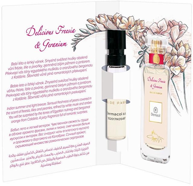 Dermacol Delicious Freesia And Geranium - Eau de Parfum (Probe) — Bild N1