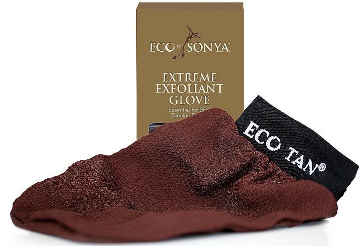 Exfolierender Reinigungsschuh für den Körper - Eco by Sonya Extreme Exfoliant Glove — Bild N1