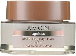 Schützende Tagescreme für das Gesicht mit Grüntee-Extrakt SPF 30 - Avon Ageless Protacting Day Cream SPF 30 — Bild N2